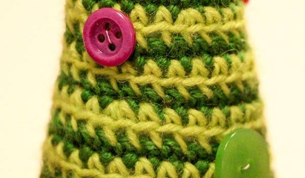 bymami opskrift på hæklet juletræ DIY | crochet pattern spiral christmas tree