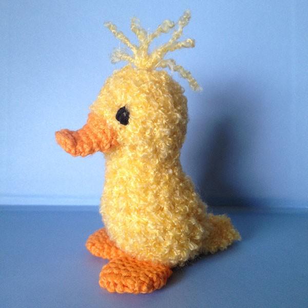 bymami hækle hæklet rapand ælling påske opskrift crochet pattern
