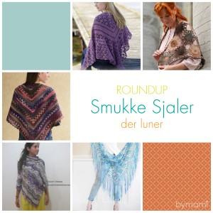 bymami hækle hæklet sjal tørklæde roundup gratis opskrift crochet crocheted free pattern shawl