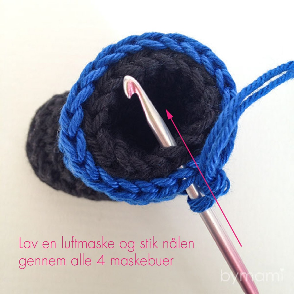 bymami bymamidk blog hækle hæklet crochet crocheted diy opskrift pattern minion stuart freebie billed guide anvisning photo tutorial foto troubleshooting hjælp