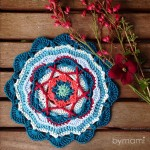 bymami bymamidk blog hækle hæklet crochet crocheted diy opskrift pattern mandala mamidala 52 weeks of mandalas 52weeksofmandalas