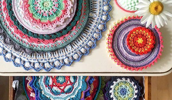 bymami bymamidk blog hækle hæklet crochet crocheted diy opskrift pattern mandala mamidala 52 weeks of mandalas 52weeksofmandalas mandalaart art
