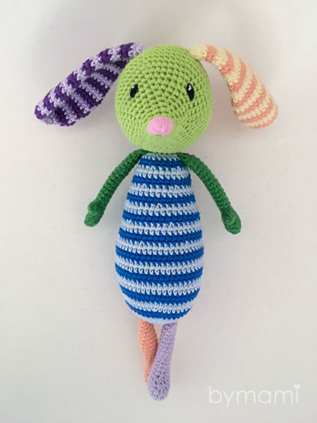bymami bymamidk hækleblog blog hækle hæklet crochet crocheted diy opskrift pattern gratis free freebies hæklede kreativ krea hånd håndarbejde håndlavet handmade amigurumi skadestuebamsen bamse tøjdyr teddy stuffies stuffed animal mus mouse bunny kanin milfred